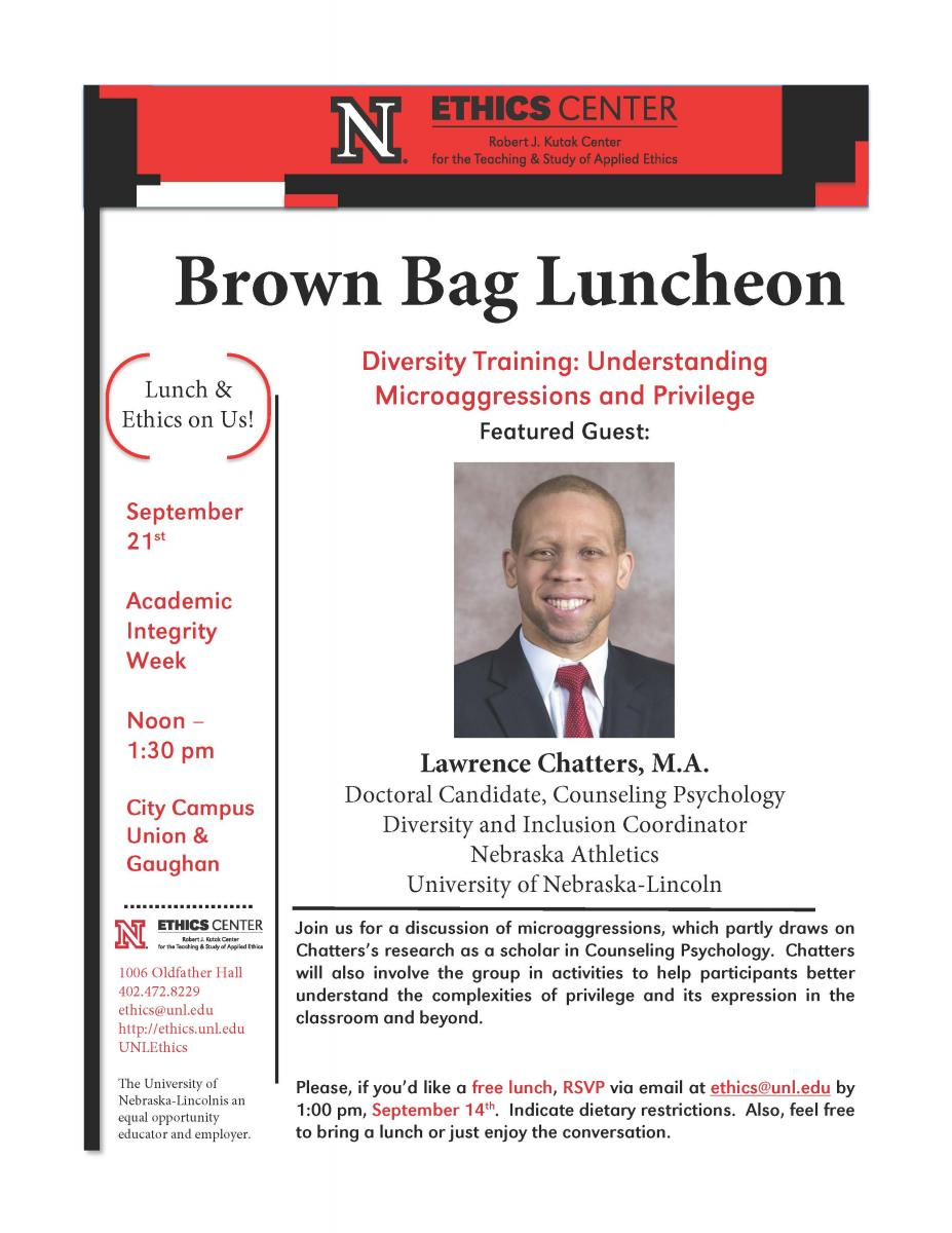 Ethics Brown Bag Luncheon