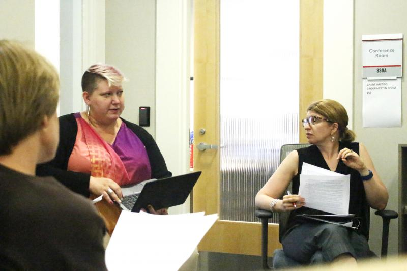 Summer 2016 Grant Writing Workgroup Participants